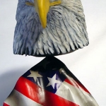 Bald Eagle Head 4lg